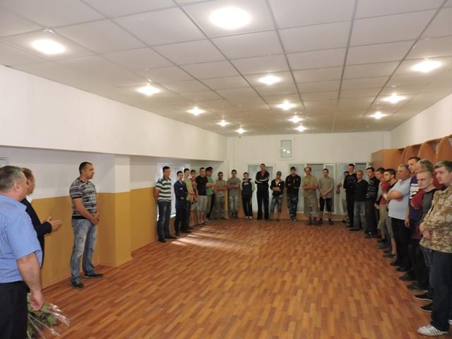 Мэр города поздравил работников ООО